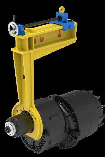 Montagevorrichtung Getriebe
